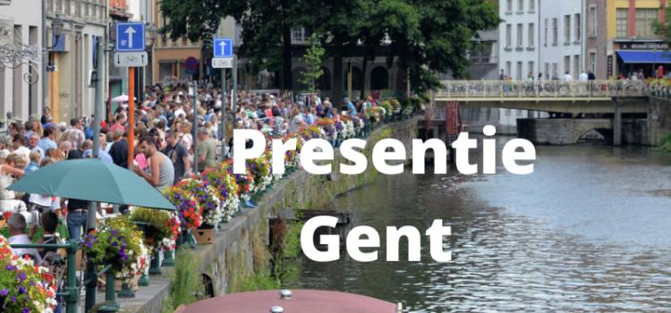 Introductiedag Presentie (Gent, 25 mei 2021)
