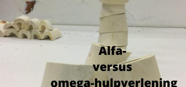 Alfa- versus omega-hulpverlening